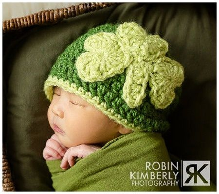 St Patricks crochet Patterns | St. Patrick's Day hat | crochet patterns