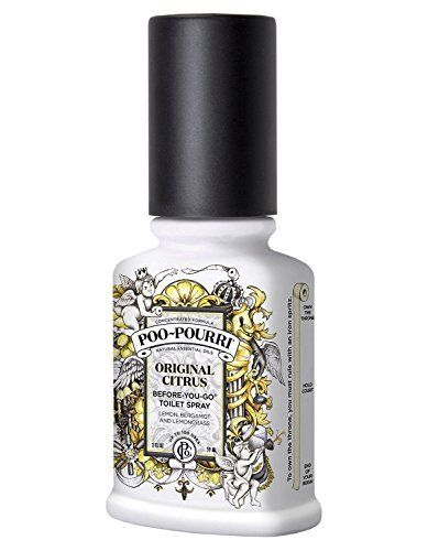 Poo Pourri Original Toilet Spray 59 ml Poo-Pourri https://www.amazon.co.uk/dp/B0014DP9Y4/ref=cm_sw_r_pi_dp_x_Wpusyb2ETC57A
