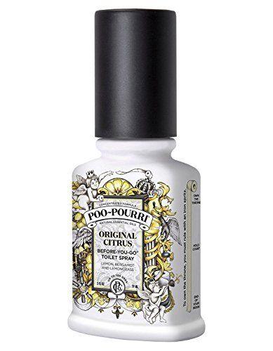 Poo Pourri Original Toilet Spray 59 ml Poo-Pourri https://www.amazon.co.uk/dp/B0014DP9Y4/ref=cm_sw_r_pi_dp_x_Wpusyb2ETC57A