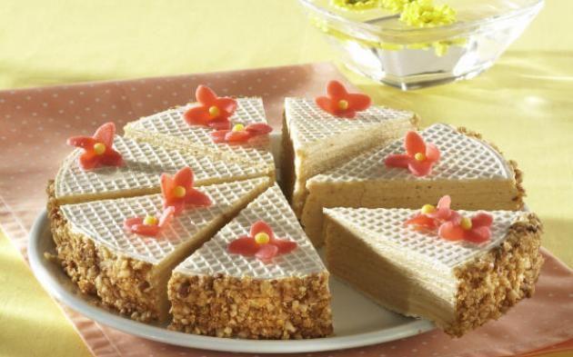 Karamelový oplatkový koláč » Pečenie je radosť! - Hera
