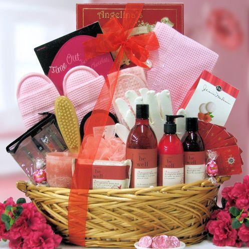 Luxury Gift Baskets For Women Gift Basket Visit
