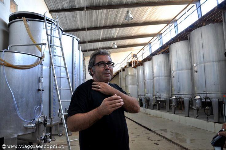 Vino spagnolo, Pablo Calatayun del Celler del Roure #regionedivalenciatrip http://www.viaggiaescopri.it/vino-spagnolo-nella-giara-valencia/
