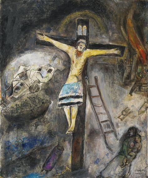 109 best images about Iconography on Pinterest   Pentecost ... Crucifixion Marc Chagall