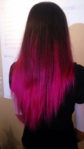 cline a essay avec grand succs le hot hot pink de manic panic - Dcoloration Cheveux Colors
