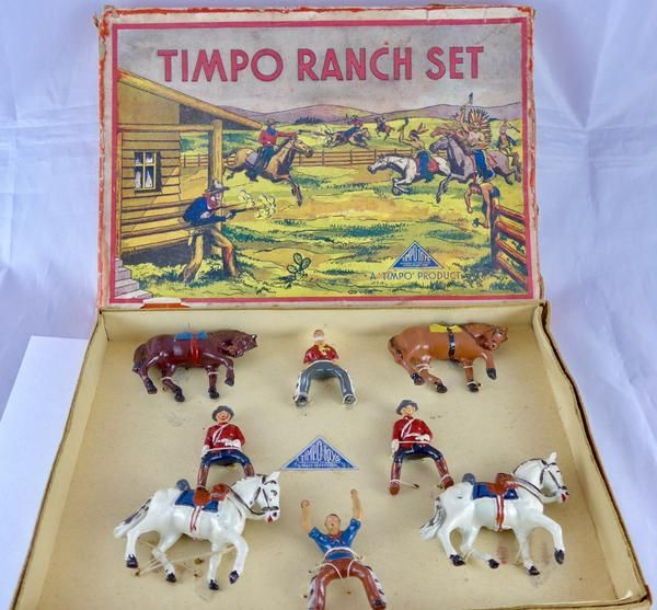 Timpo Ranch Set 239: Canadian Mounted Police