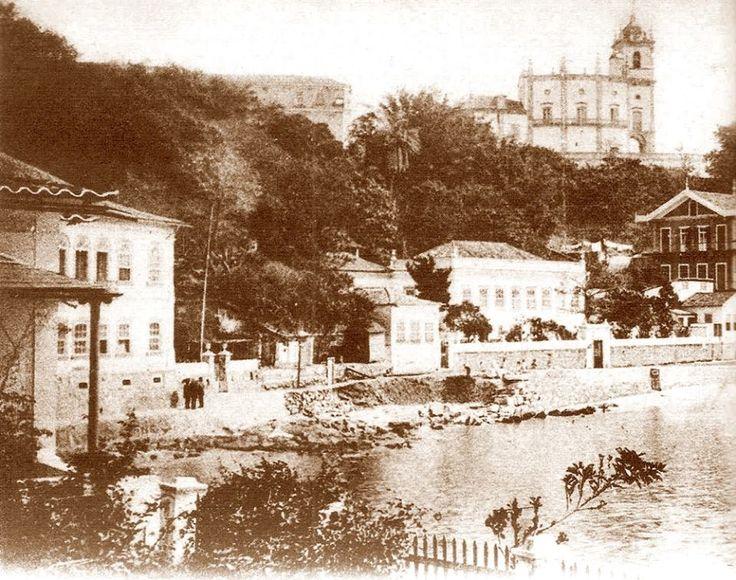 Rio de janeiro, Praia do Russel, Glória, em 1865