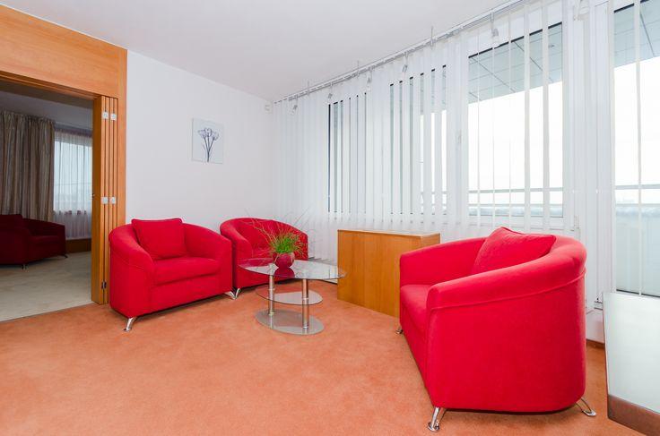 Prezidentské apartmá - obývací část