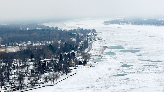 Harsh Winter Causes Greatest Great Lakes Ice Coverage Since 1979