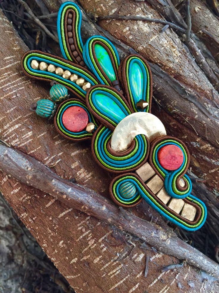 Dori Csengeri AIBIJOUX  Gioielli soutache   www.aibijoux.com   #DoriCsengeri #fashionjewellery #bijoux