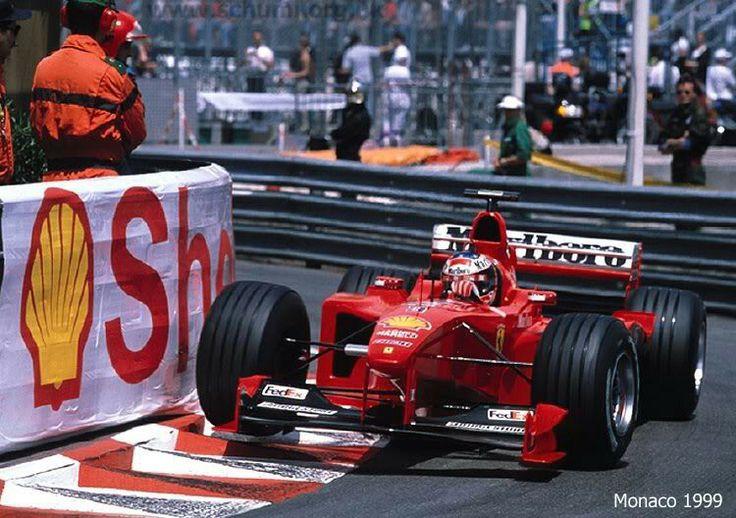 Schumacher - 1999 MonacoGP