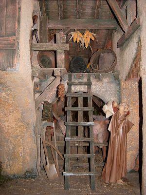 BELENES DE LOS HERMANOS DE SAN JUAN DE DIOS: BELÉN HOSPITAL SAN JUAN DE DIOS ALJARAFE - SEVILLA 2007