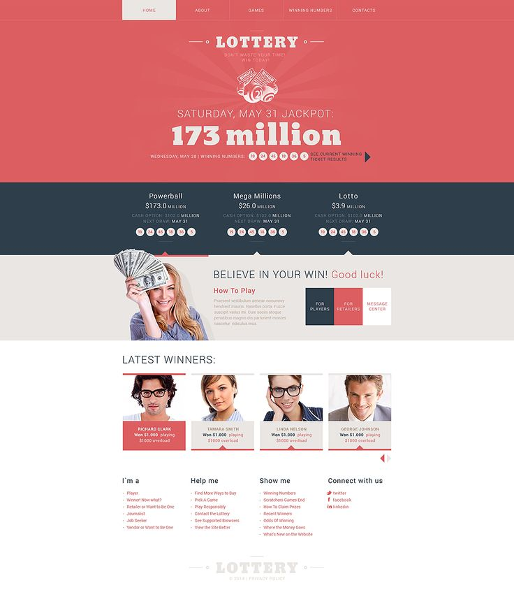 Casino web template