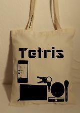 Baumwolltasche Jutebeutel Tasche Bag lange Henkel Vintage Hipster (Cool Crafts Shops)