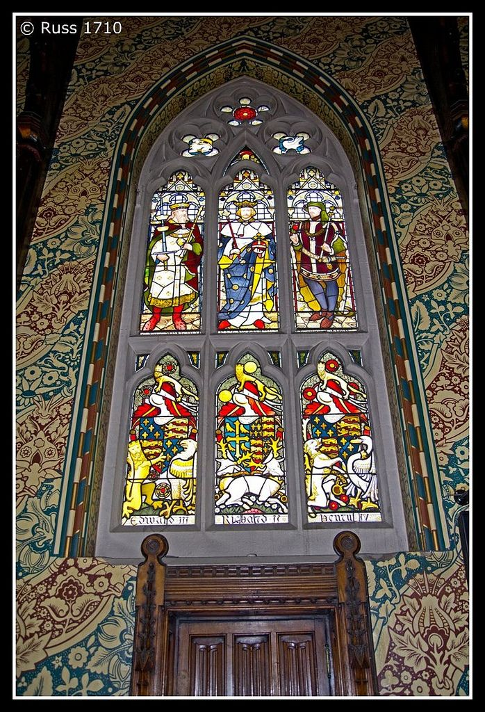 https://flic.kr/p/amhhdL | Rochdale Town Hall - Stained Glass | Rochdale Town Hall has some wonderful stained glass - these panels are are situated in the Great Hall and depict previous British Monarchs.