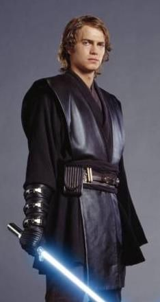 Anakin's costume in Revenge of the Sith is pretty much the same as it is in Attack of the Clones. I think the leather on his costume in ROTS is a bit wider and longer giving him a very powerful appearence.