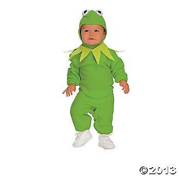 Kermit Years Kid's Costume