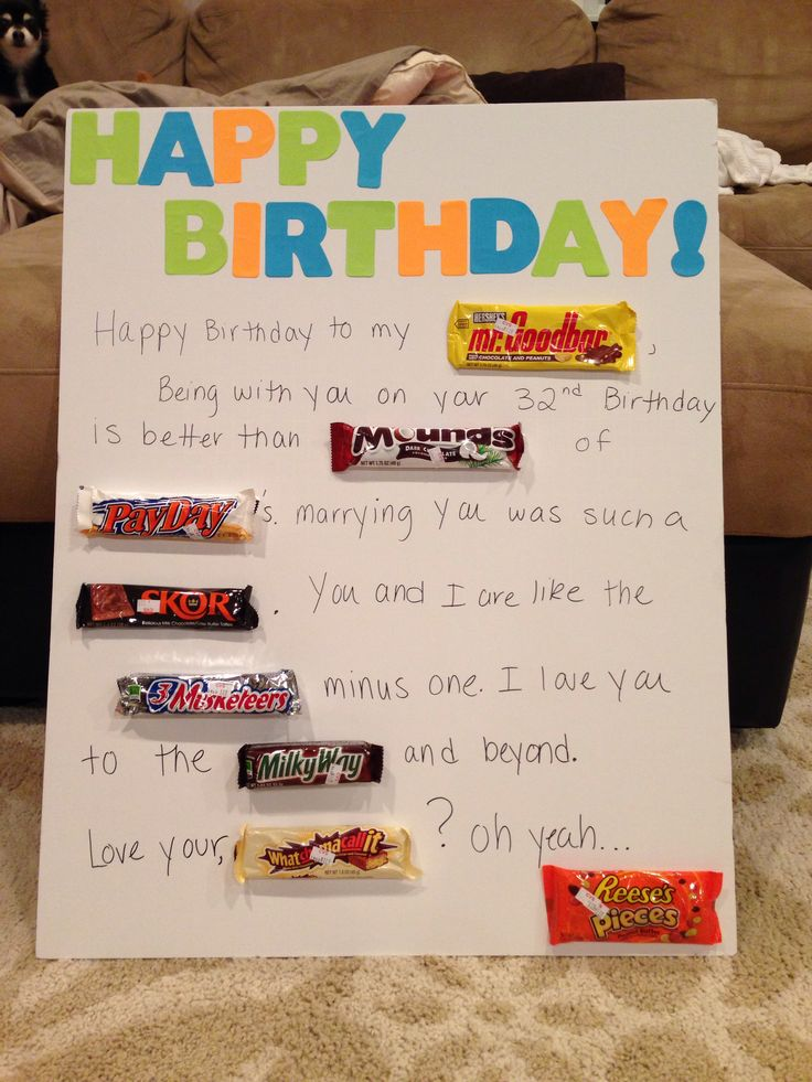 Homemade Anniversary Ideas For Husband: 40 Best Images About Husband's Birthday Ideas On Pinterest