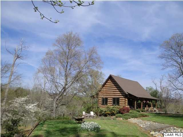 cabin landscaping | Mountain Cottage | Pinterest