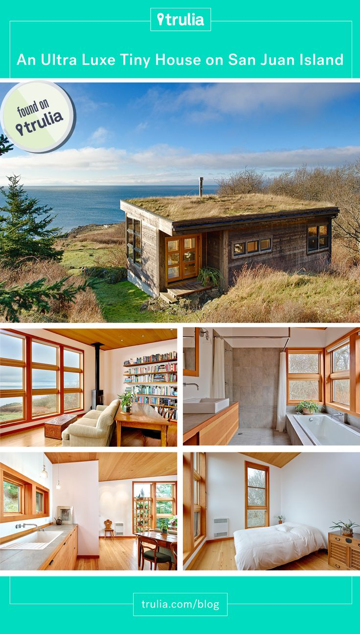 Found on Trulia: Ultra Luxe Tiny House on San Juan Island - under 600 ft of pure amazing.