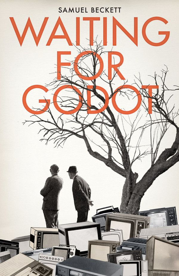 Samuel Beckett, 'Waiting for Godot' : http://bookcoverdaily.tumblr.com/post/49263560895/waiting-for-godot-by-samuel-beckett | #bookcover