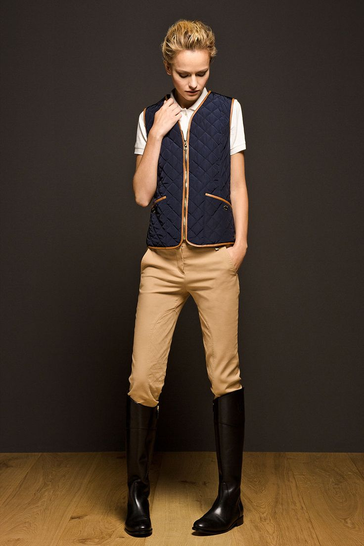 Massimo Dutti Equestrian Collection - Quilted Waistcoat