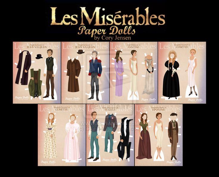best les miserables set design images set design printable les miserables paper dolls by cory jensen