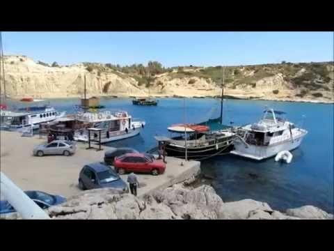 Kolymbia RODOS 🌴☀ Kapliczka Na Skale i Port w Zatoce.