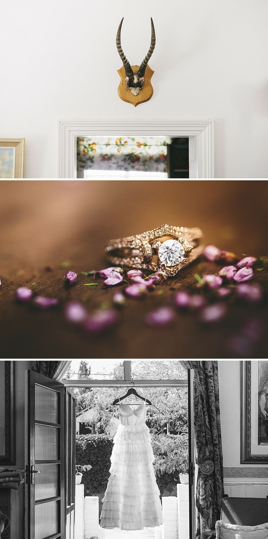 Sarah's beautiful engagement ring and dress #Nieu-Bethesda #Wedding #Ring #Sarah #Karoo #CharlieRay