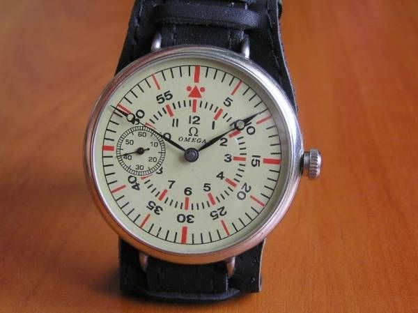 Omega OMEGAオメガ1935年製パイロットスタイルアンティーク腕時計 Watch Antique ¥55800yen 〆10月31日
