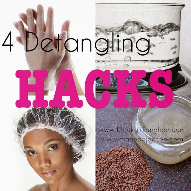 4 Hacks for Detangling Natural Hair