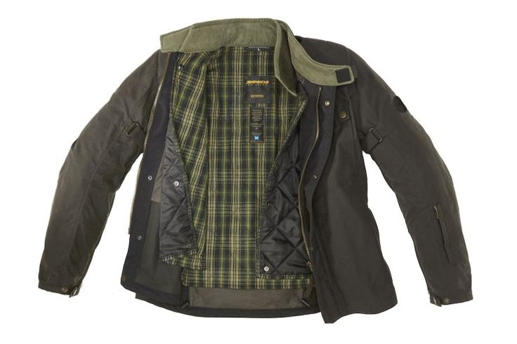 Spidi Worker Wax Motorcycle Jacket