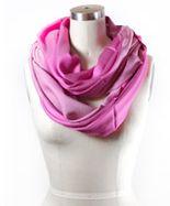 круглый шарф выкройка