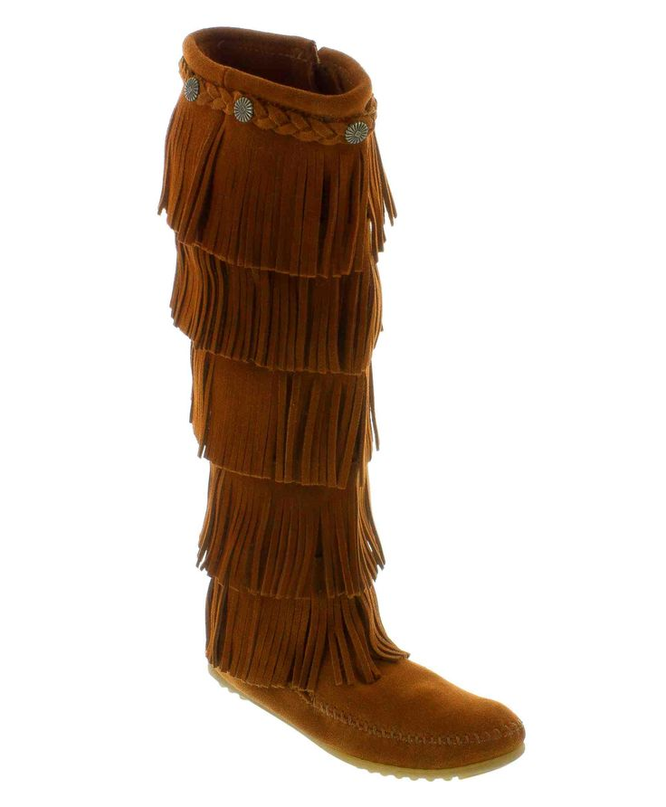 Minnetonka - 5-Layer Fringe Boot. Available