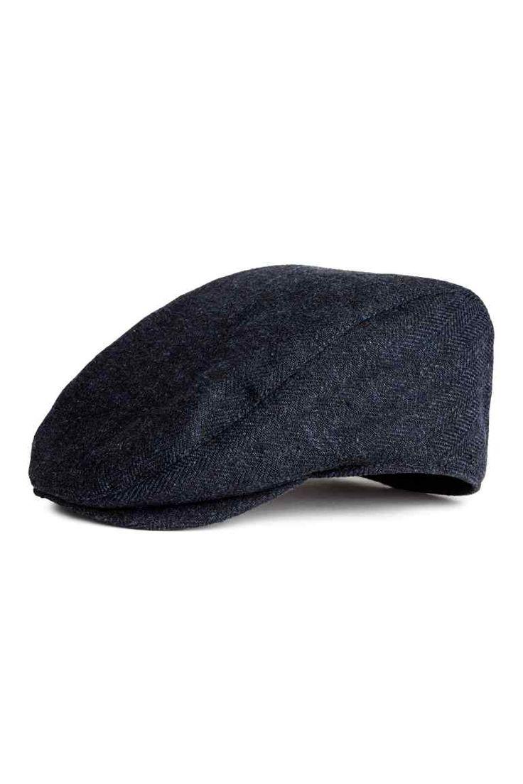 Casquette plate - Bleu foncé - HOMME | H&M FR 1