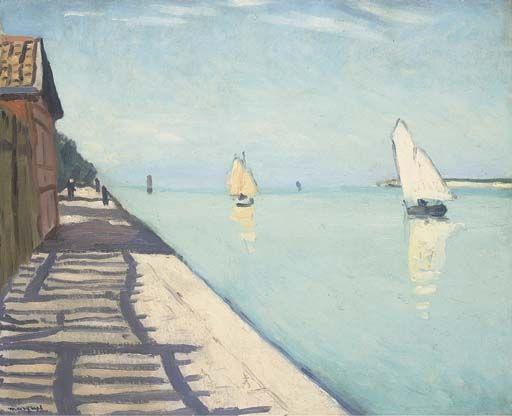 Artwork by Albert Marquet, La Rochelle, Made of oil on artist's board