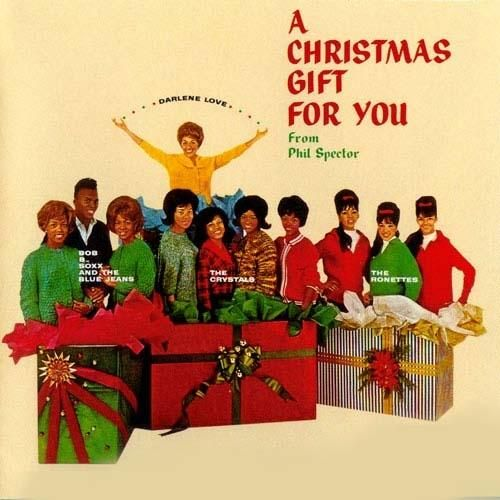 The cover to Phil Spector's 1963 Christmas album