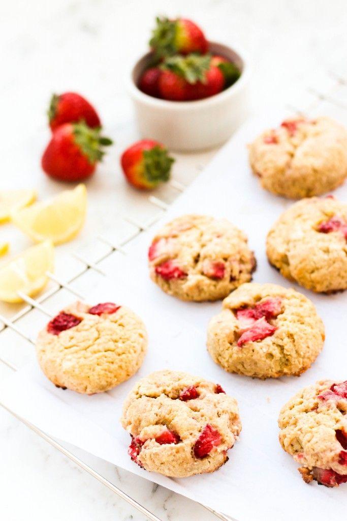 Gluten-free Strawberry Quinoa Scones