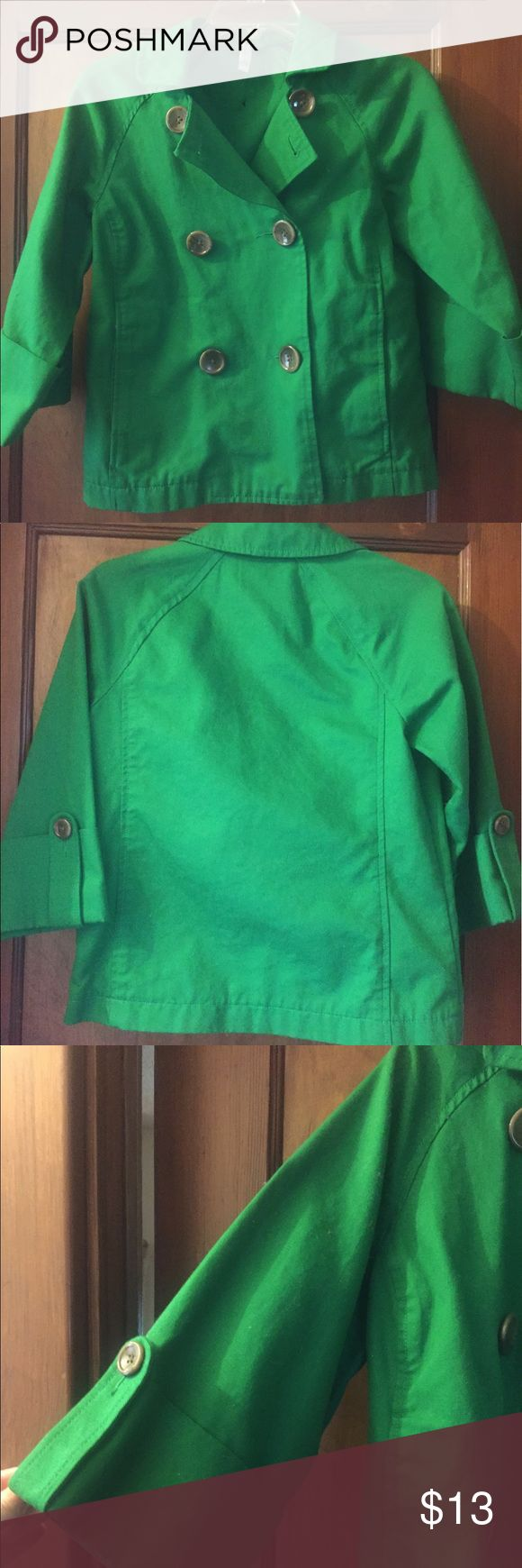 Old Navy peat coat Old Navy grass green colored pea coat. Great condition. Sz XS. SMOKE FREE HOME. Old Navy Jackets & Coats Pea Coats
