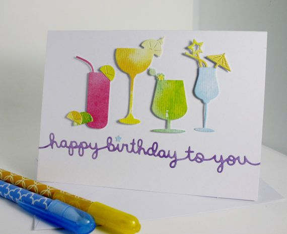 Birthday Cards To Send ~ Best cheers cards images cocktail cocktails