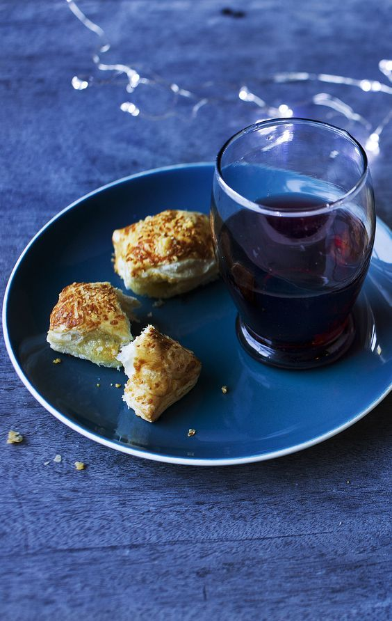 If you're expecting guests this Christmas Eve, try baking a batch of Nigel Slater's stilton pastries as nibbles