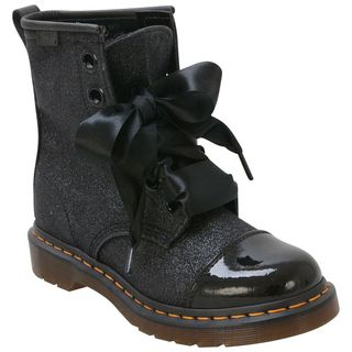 Black Dr. Martens Women's Gracie Lace-Up Boot. These are the boots I bought...@Jennifer Ciaccio