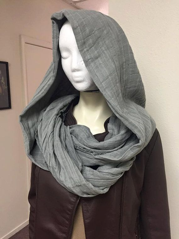 Rogue One Star Wars Movie inspired Jyn Erso Hooded Scarf