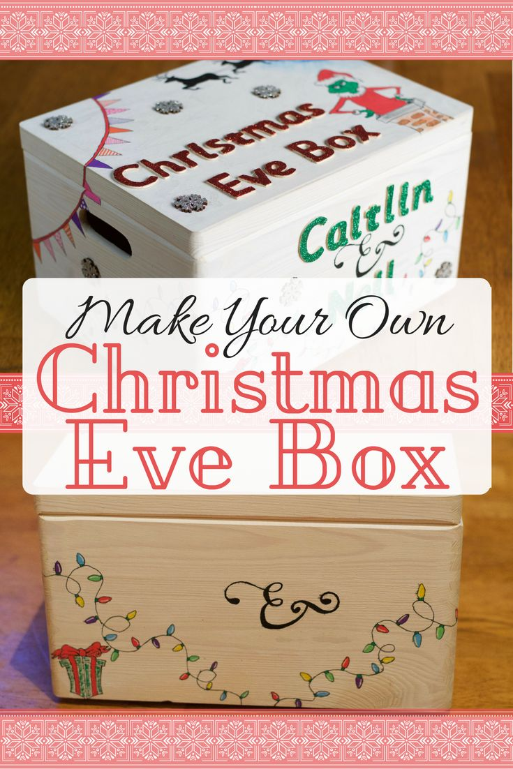 DIY Christmas Eve Box - How to make your own Christmas eve box. Festive ideas / Christmas gift ideas / Christmas traditions / Christmas Ideas