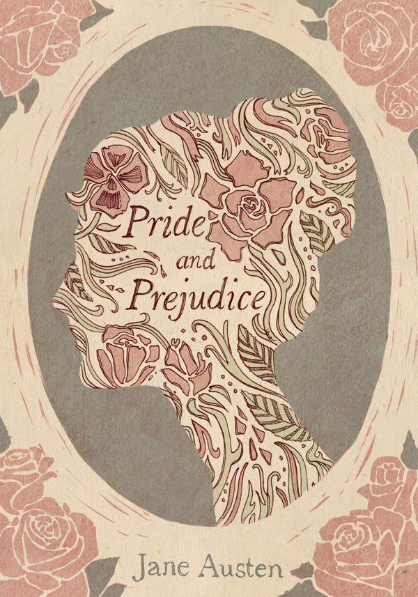 Book Cover Drawing Uk ~ A book cover design for quot pride and prejudice by jane