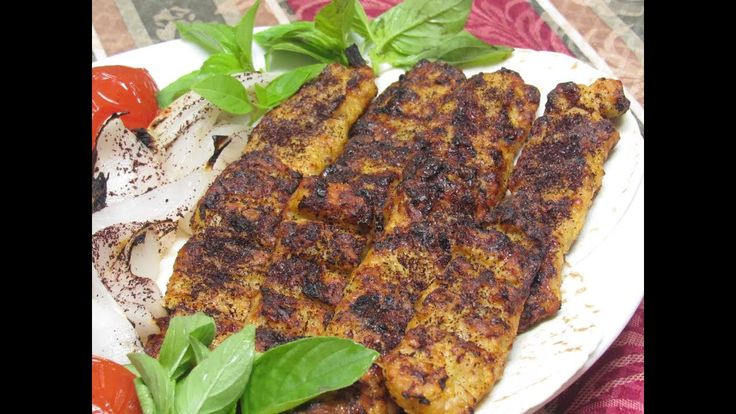 Ground Chicken Kabob كباب دجاج بالفرن بطريقه المطاعم مع حمص بطحينه Youtube Food Arabic Food Meat