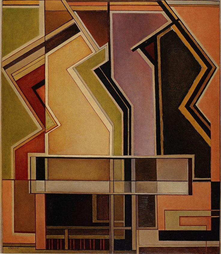 Mario Radice, Ritratto segreto 61, 1955