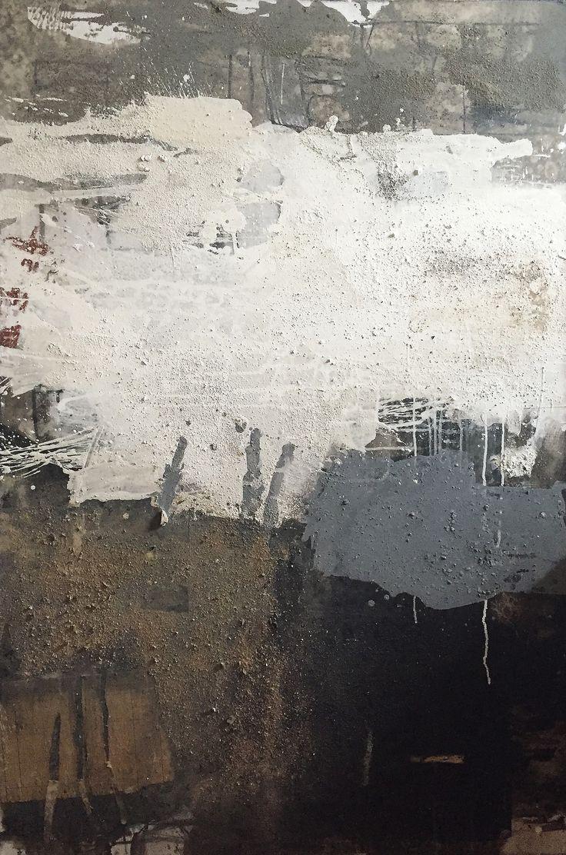 Ines Hildur WV07.16.C 150 x 100 cm 2016 Mixed Media on Canvas