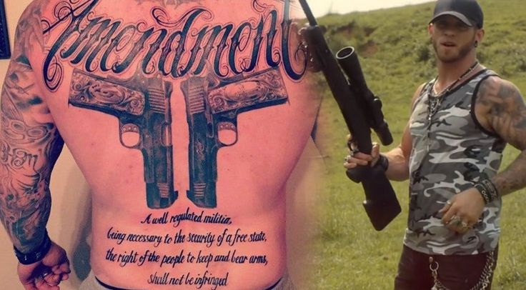 No Mistaking Brantley Gilbert's Stance on the 2nd Amendment