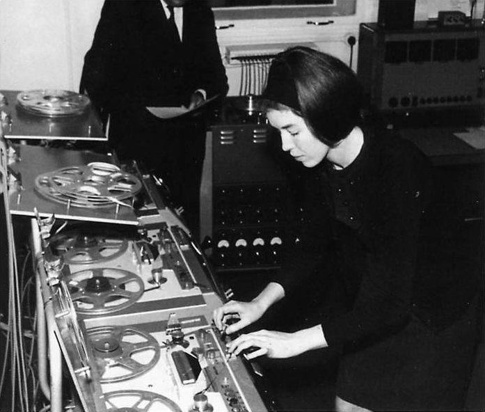 Noise queen Delia Derbyshire.