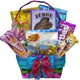 43 best easter images on pinterest easter eggs chocolate candies art of appreciation gift baskets bunny treats cookie and candy easter gift basket small gourmet candy gifts negle Gallery